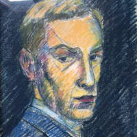 1849 Autoritratto giovanile