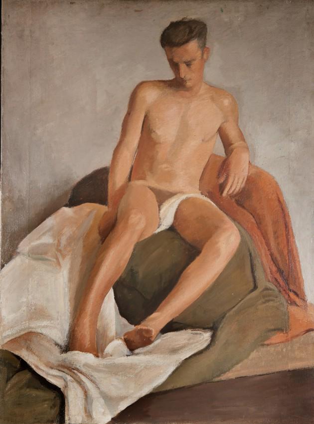 Giovane nudo graphic