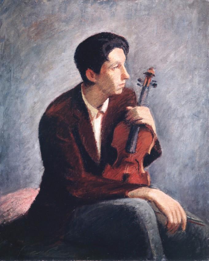 Violinist graphic