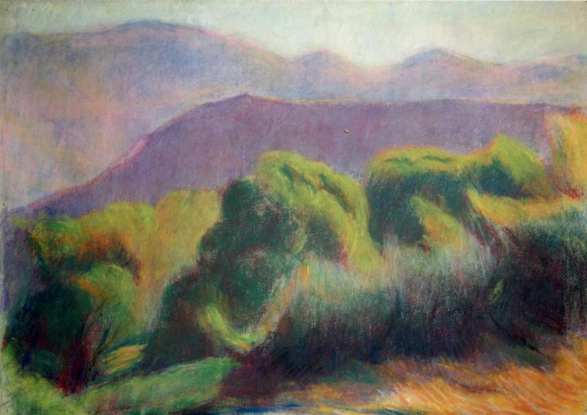 Castagno: the rock of San Martino graphic