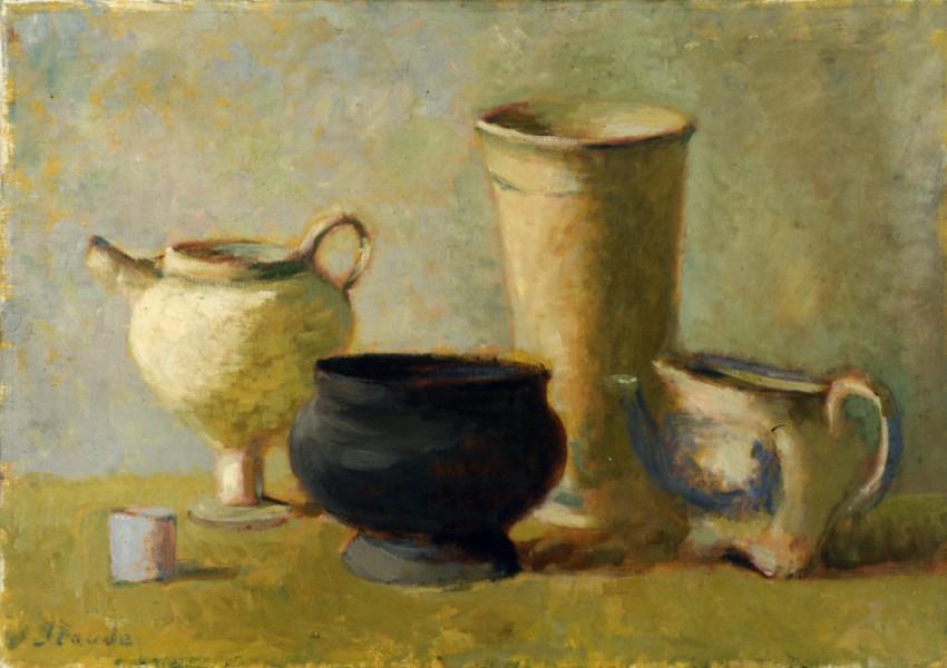 Five vases graphic